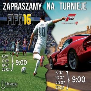 MEDIATEKA LATEM: FILMOWE PORANKI ORAZ TURNIEJE FIFA 16 IFORZA MOTORSPORT 4