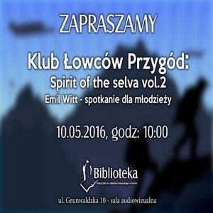 10.05.2016 - KLUB ŁOWCÓW PRZYGÓD